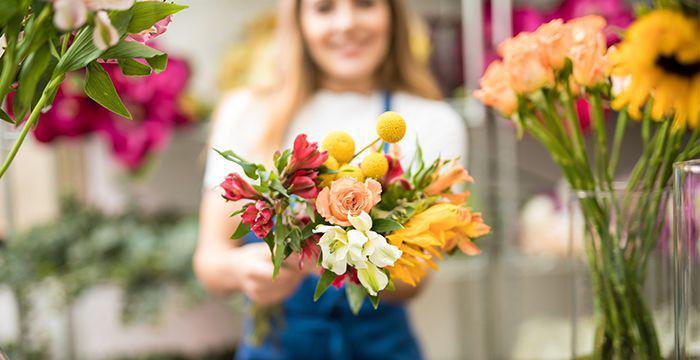 Покупка цветов в интернет магазине
